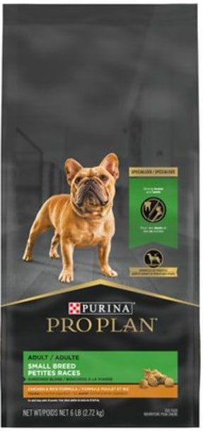 Purina dog food for Pomeranians